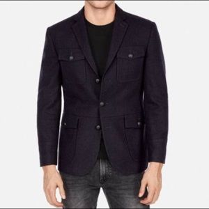 Express Four Pocket Military Blazer -42 Slim
